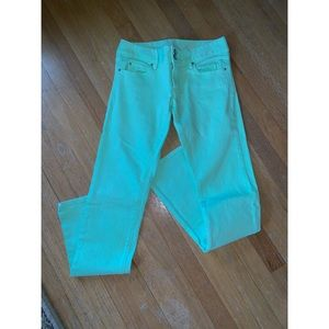 Lime Lilly Pulitzer jeans size 4